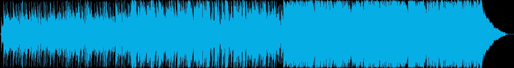 炭鉱の町 星空 廃屋 ピアノ ギターの再生済みの波形