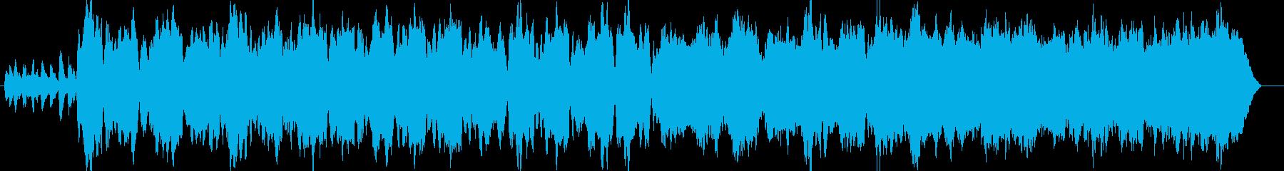 ファンタジー系ゲームなどのフィールBG…の再生済みの波形