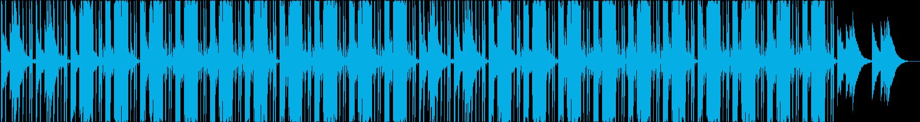 ヒップホップ、ポップ、スタイリッシュの再生済みの波形