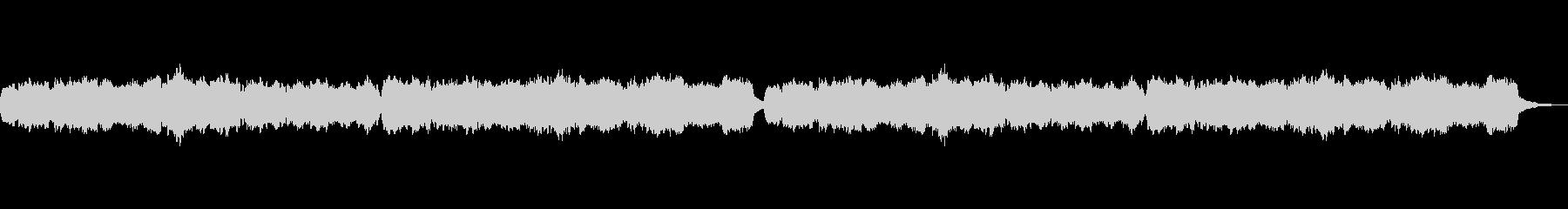 チェロとチェレスタの優しいオルゴール風の未再生の波形