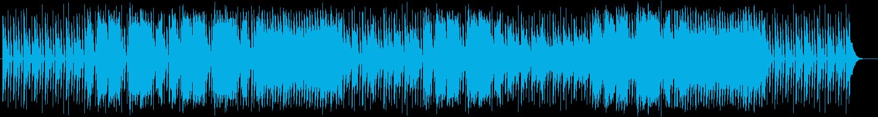 かわいい音のやわらかテクノの再生済みの波形