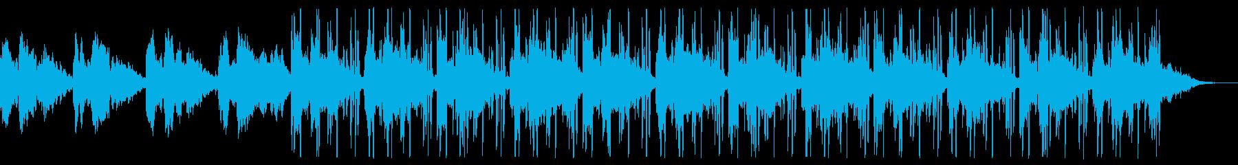 幻想的なHipHop BGMの再生済みの波形