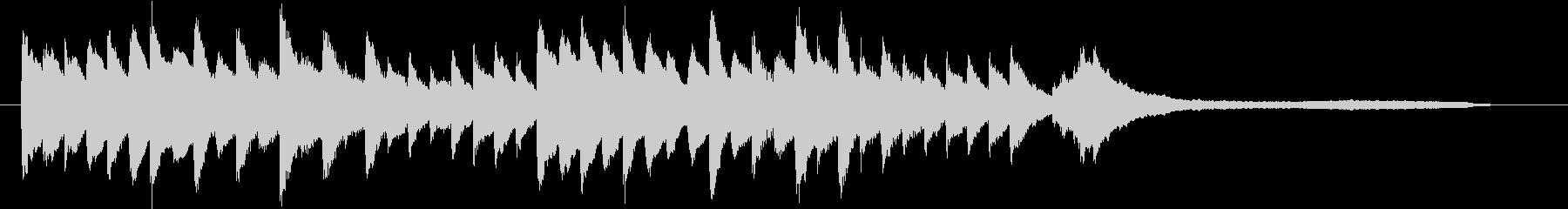 結婚式効果音_ブーケ01の未再生の波形