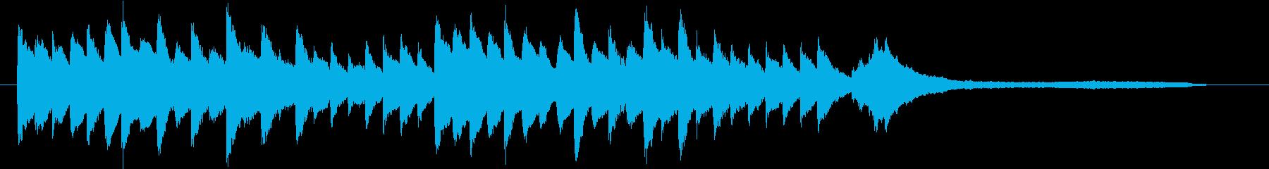 結婚式効果音_ブーケ01の再生済みの波形