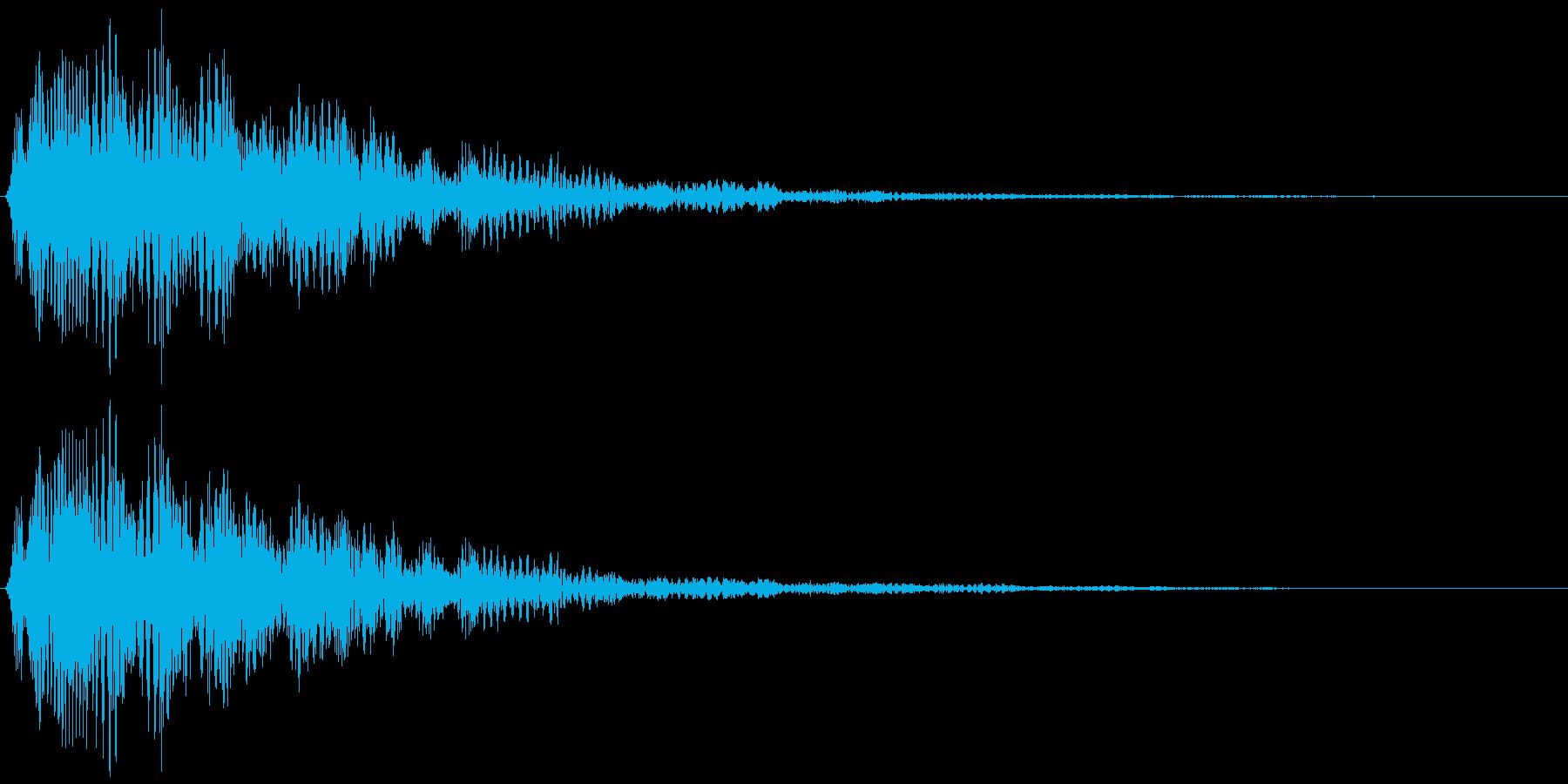 決定・空気感・キャッチー・印象的8の再生済みの波形
