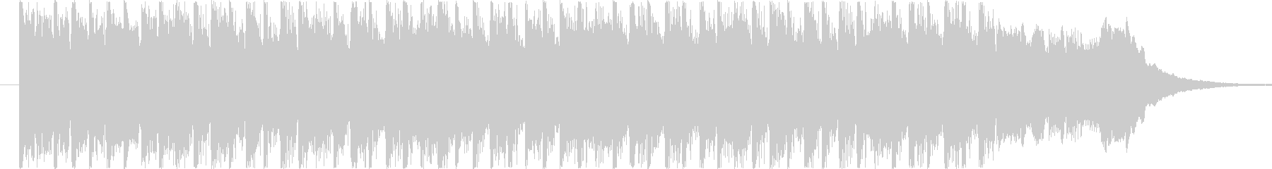 疾走感溢れるテクノ風BGM(15ver)の未再生の波形