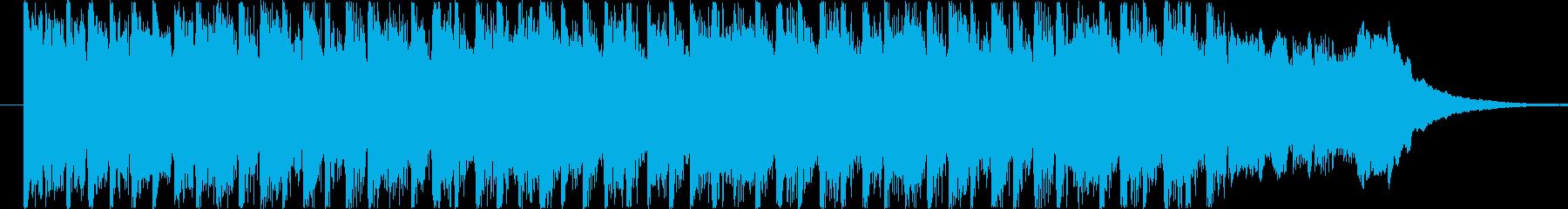 疾走感溢れるテクノ風BGM(15ver)の再生済みの波形