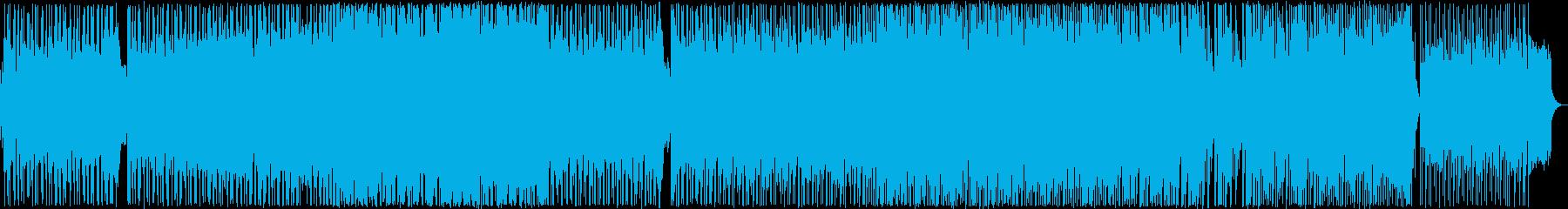 ゆったりとしたメロディのポップバラード2の再生済みの波形