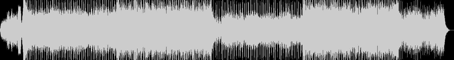 カッコイイ現代的なシンセミュージック01の未再生の波形
