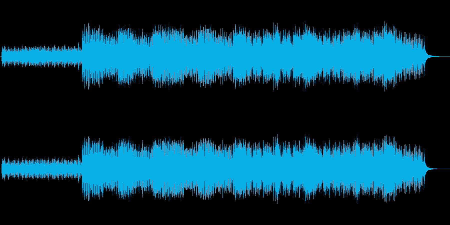 睡眠導入に向いている癒やしのオルゴールの再生済みの波形