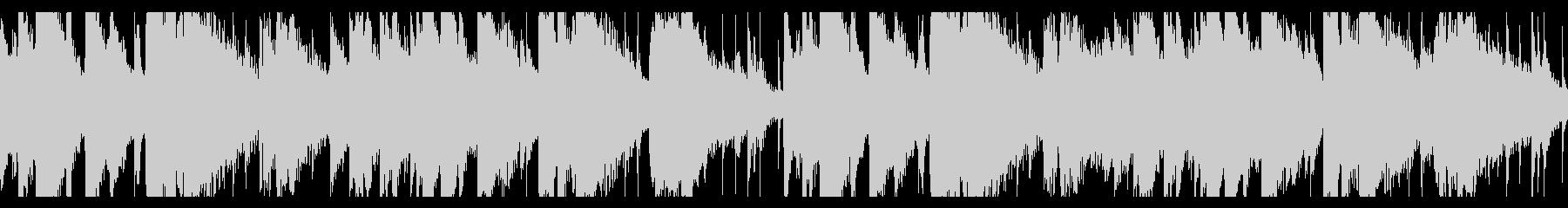 ピアノトリオ+α 落ち着いたジャズループの未再生の波形