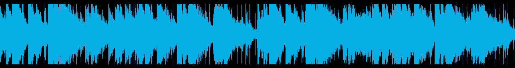 ピアノトリオ+α 落ち着いたジャズループの再生済みの波形