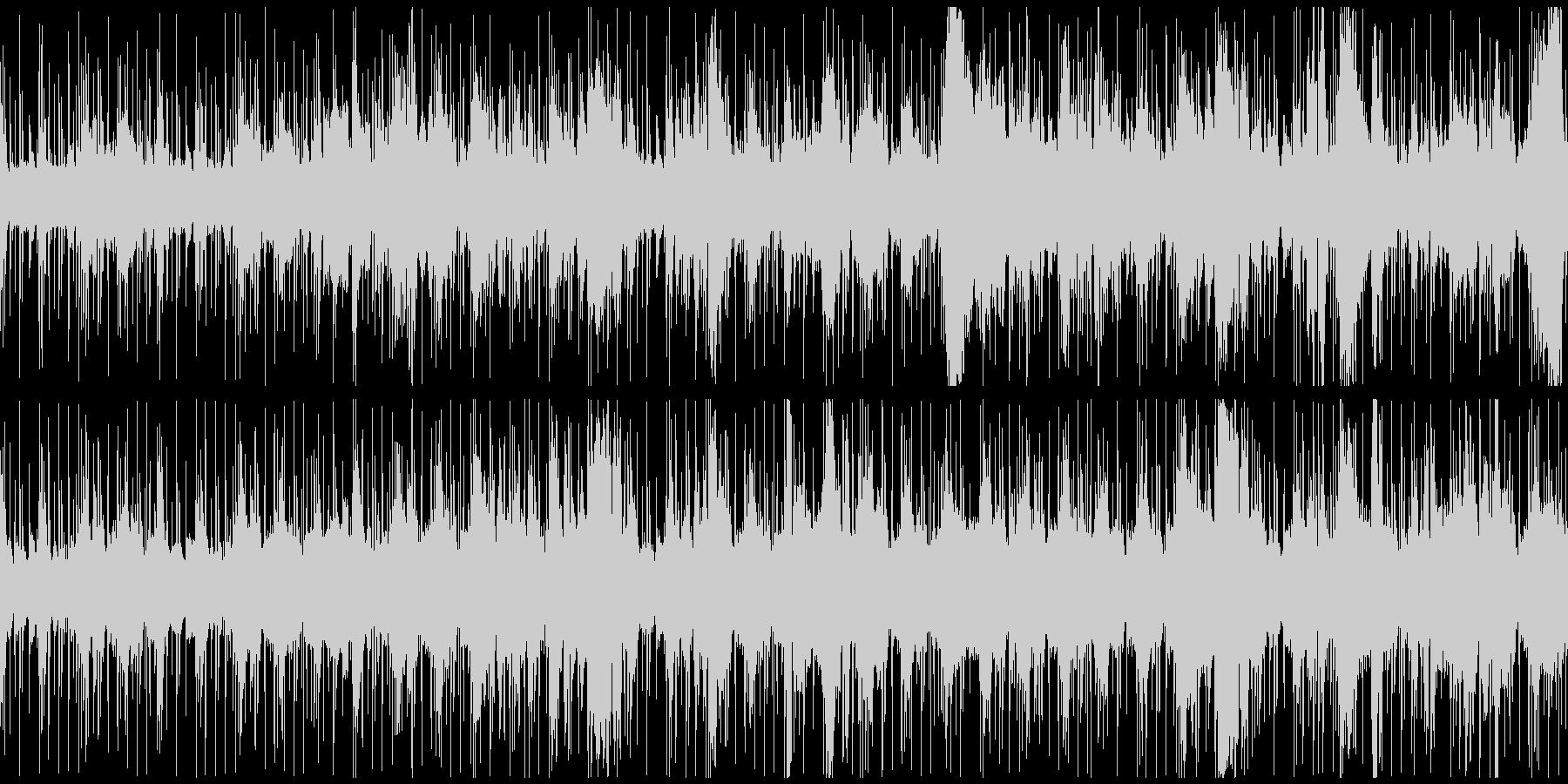 マサイ族の伝統的な歌が印象的の未再生の波形