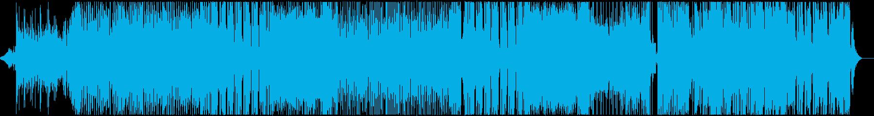 EDM系メロディアスなフューチャーベースの再生済みの波形