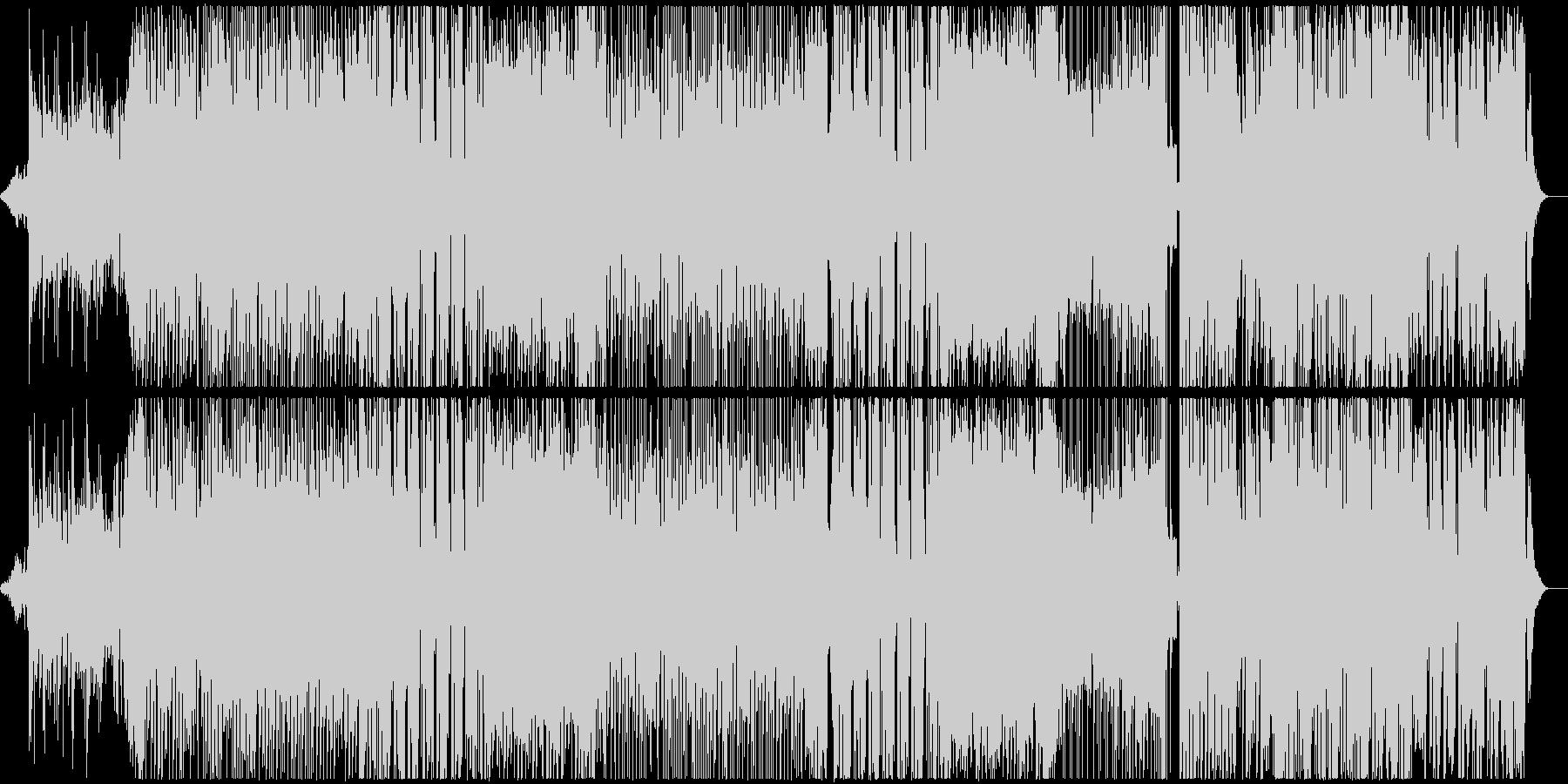 EDM系メロディアスなフューチャーベースの未再生の波形