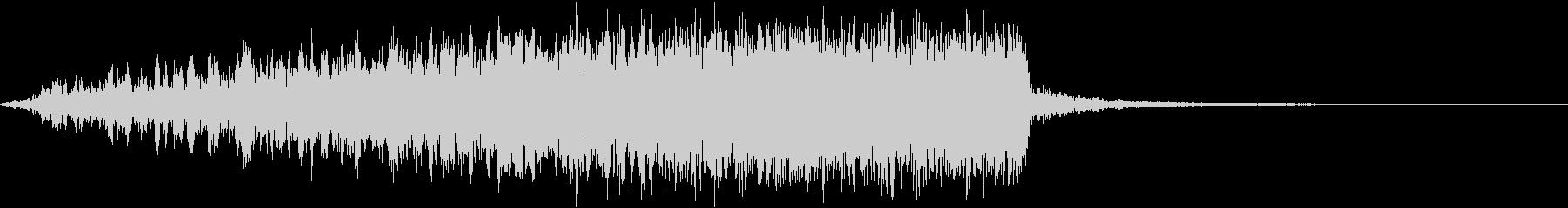 重低音と高音電子音の調和の未再生の波形