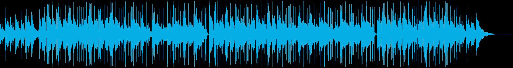 穏やか・メランコリック/チルアウトBGMの再生済みの波形