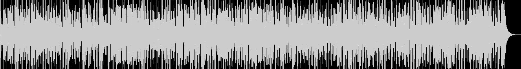 秋に想いを焦がすイメージのジャズファンクの未再生の波形