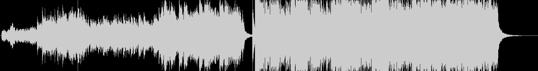 ハリウッド風ピアノ&オーケストラ-短縮版の未再生の波形