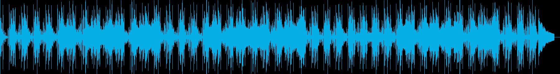 ムーディーでブルージーなギターキュ...の再生済みの波形