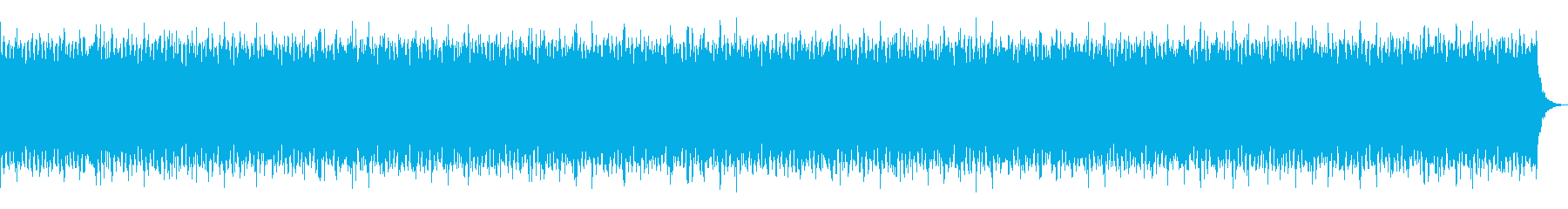 オルガンの爽やかでおしゃれなBGMの再生済みの波形