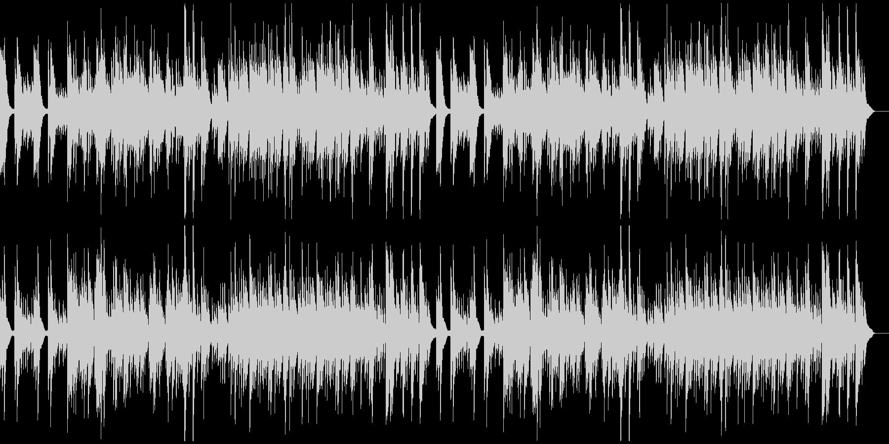 しんと静まり返るようなソロ・ピアノ曲の未再生の波形