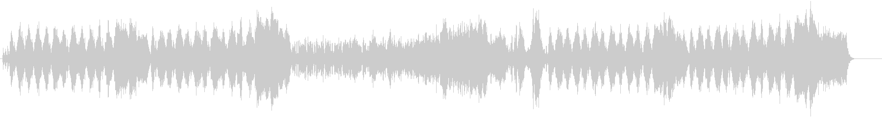 バロック調ウェディング・セレモニーの未再生の波形
