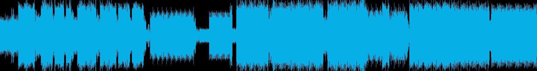 エレクトロニック、プログレッシブ、テクノの再生済みの波形