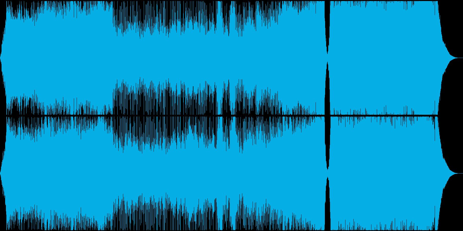 スピード感たっぷりな危機感迫るエピックの再生済みの波形