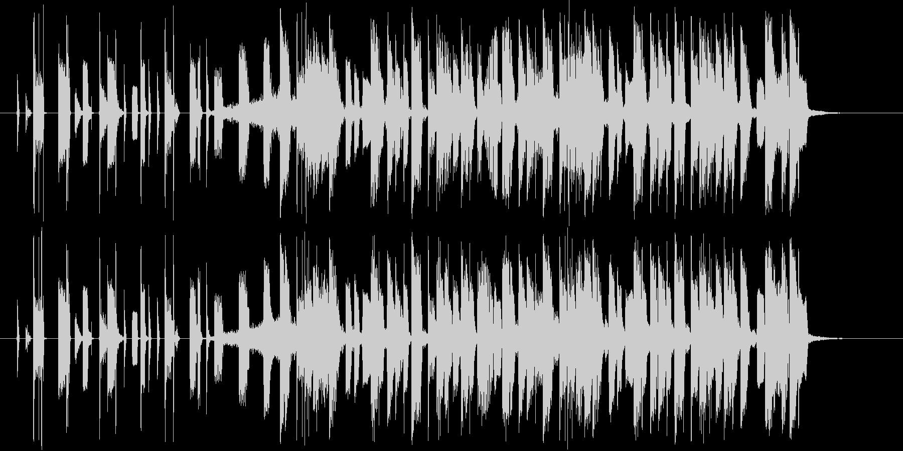 ハイセンス!洗練されたエレクトロCM曲!の未再生の波形