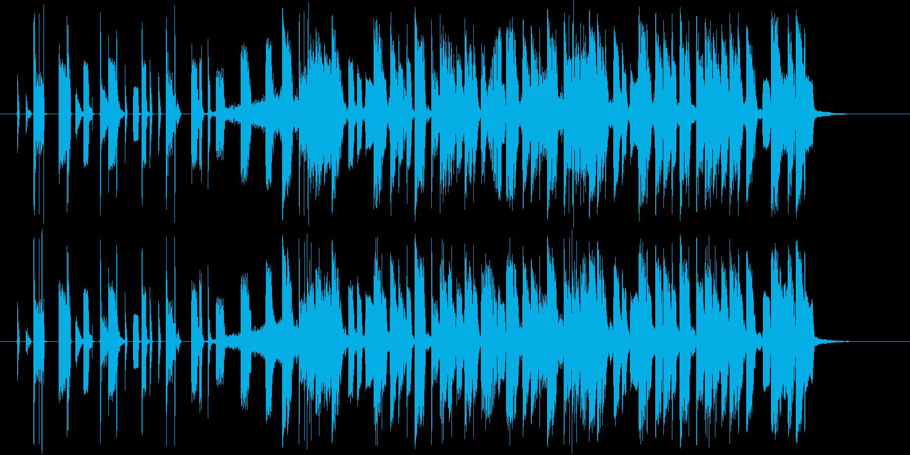 ハイセンス!洗練されたエレクトロCM曲!の再生済みの波形