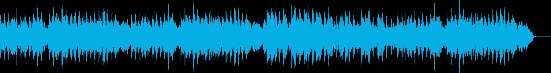優しくシンプルなピアノソロの再生済みの波形