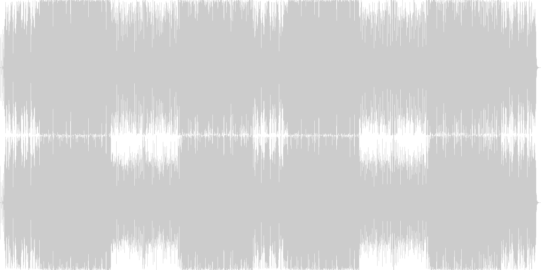 【切ない系】下弦の月の未再生の波形
