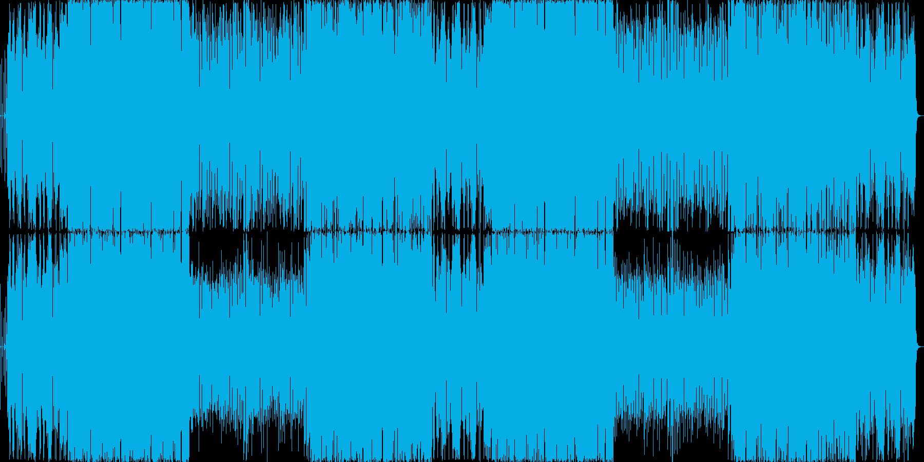 【切ない系】下弦の月の再生済みの波形