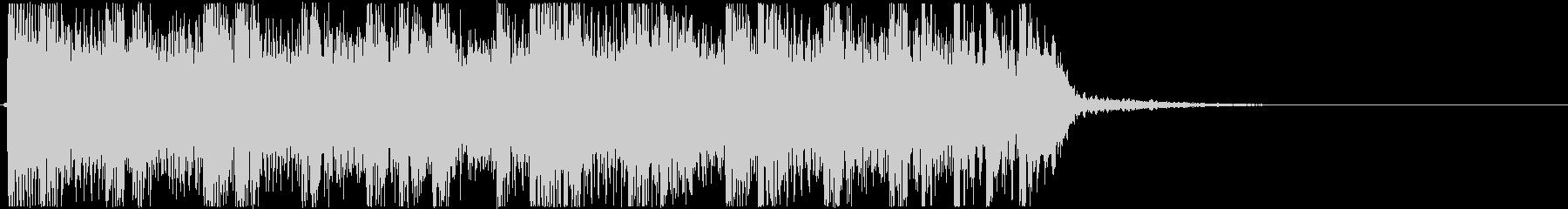 生演奏メタルなアイキャッチ12の未再生の波形