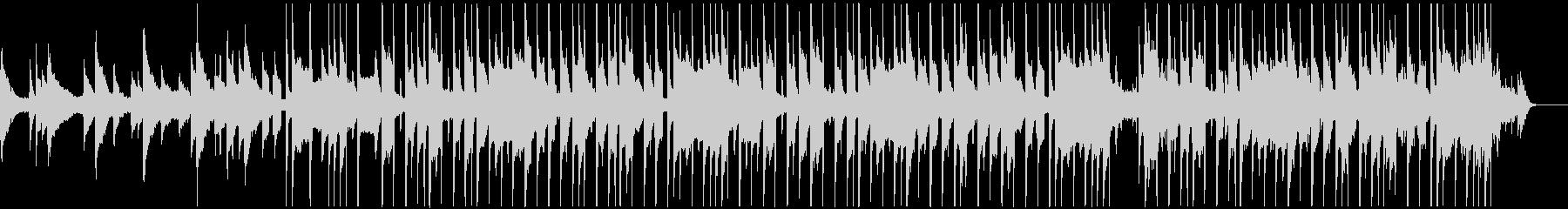琴の音が心地よいLo-fi HIPHOPの未再生の波形
