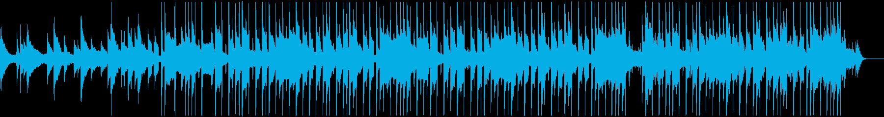 琴の音が心地よいLo-fi HIPHOPの再生済みの波形