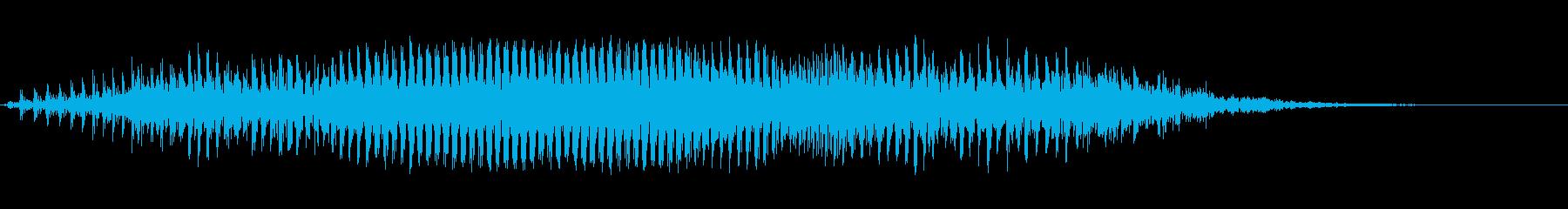 モォ〜♪牛の鳴き声の効果音 08の再生済みの波形