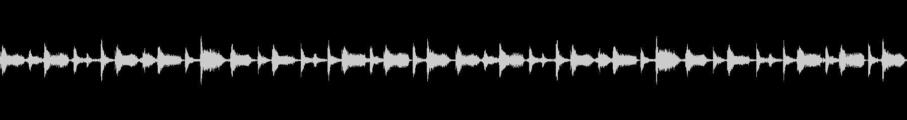 ノリの良いビートボックスの未再生の波形