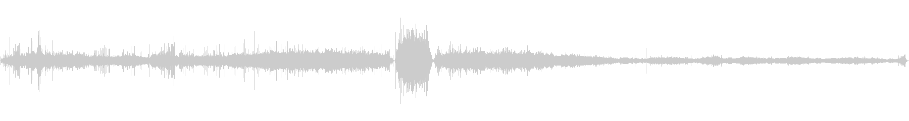 クリーチャーヒスドローン悲鳴を上げるの未再生の波形