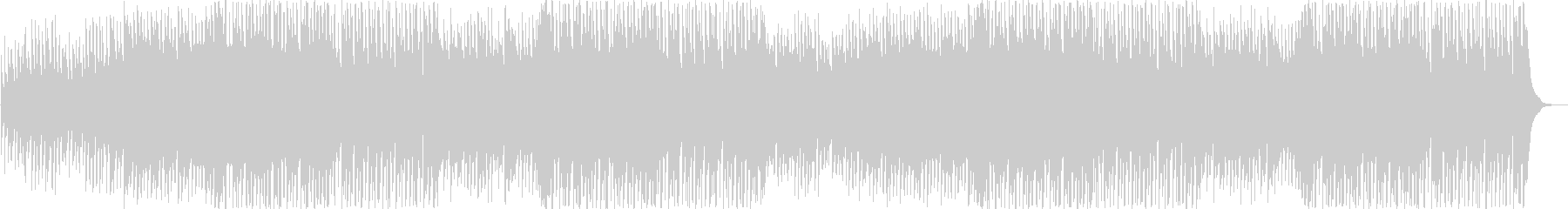 流行のコンセプトムービーBGMサウンド⑤の未再生の波形