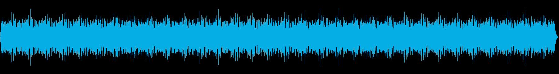 声入り、神秘的スピリチュアルミュージックの再生済みの波形