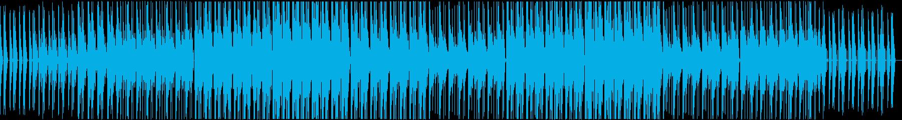 Vlog 映像作品 おしゃれなBGMの再生済みの波形