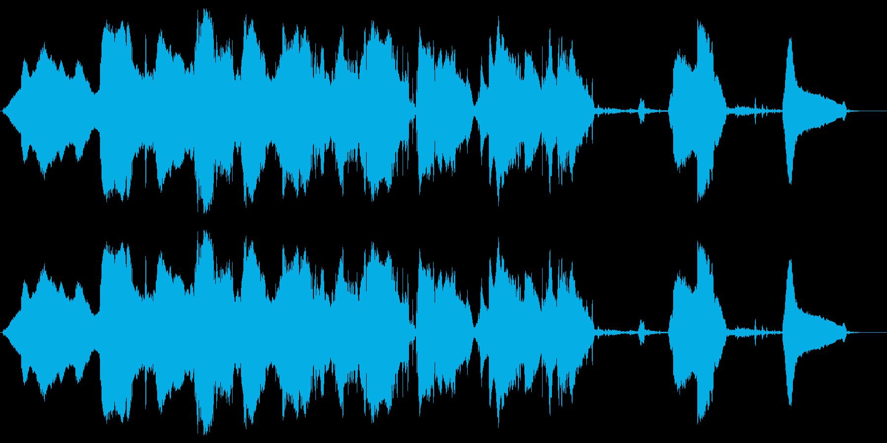 狼の再生済みの波形
