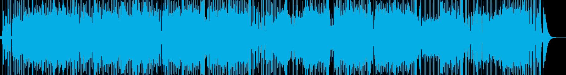 アルプスの風景が浮かぶカントリーの再生済みの波形