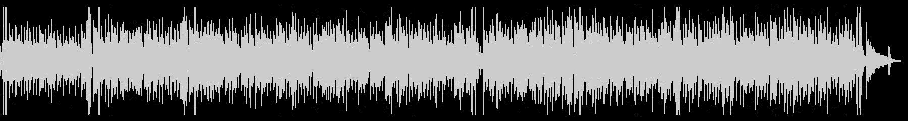 カフェBGM・疾走感のあるジャズギターの未再生の波形