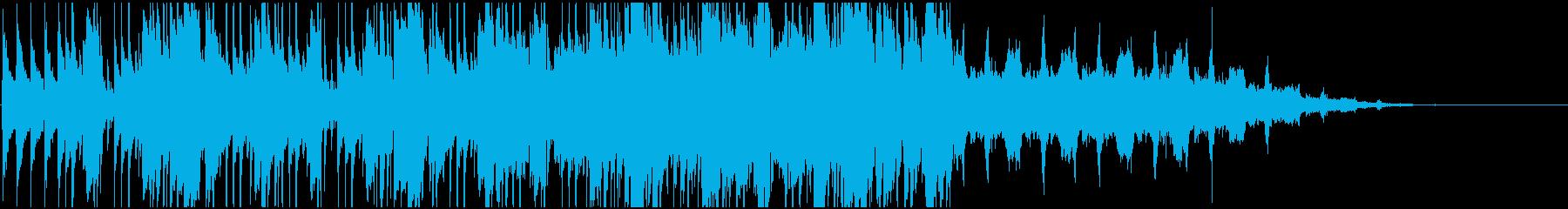 大ヒットと一種のヒップホップブレー...の再生済みの波形