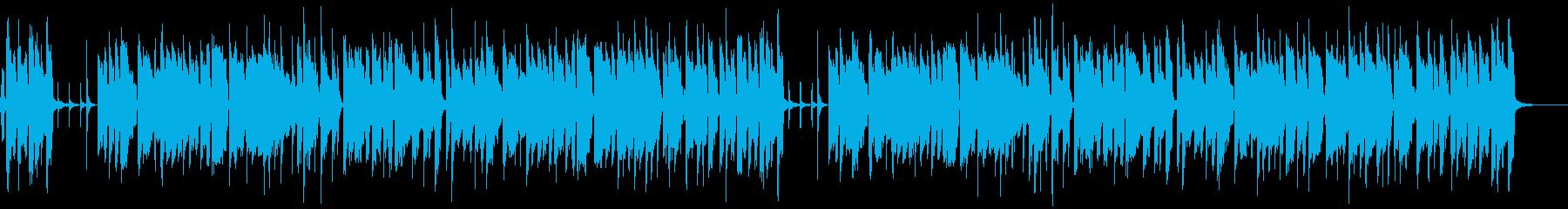 軽やか・爽やか(メロあり)2ループの再生済みの波形