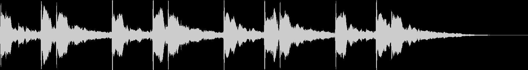 本当にあった怖い話:怪談の不気味な音の未再生の波形
