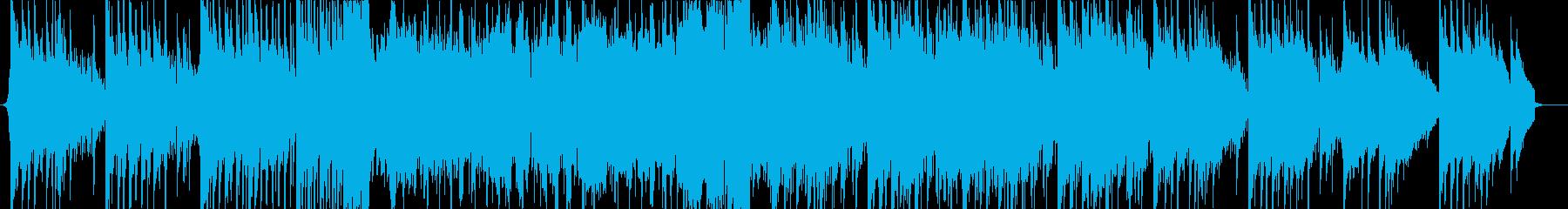 シネマティックなダブステップの再生済みの波形
